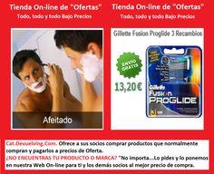 Devuelving Tienda Online y Comercio por Internet: Gillette Fusion Proglide 3 Recambios