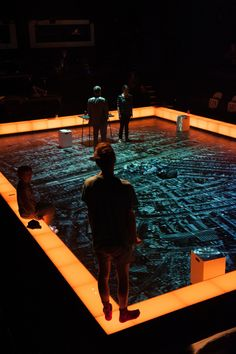 The Curious Incident of the Dog in the Night-Time - set and costume design, Bunny Christie UK