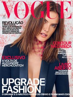 Alessandra Ambrosio by Mariano Vivanco Vogue Brazil April 2016