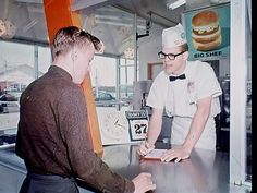 Laura Palmer walks with me (fuckyeahvintage-retro:   Burger Chef, 1965-70 ©...)