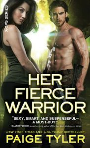 Her Fierce Warrior By Paige Tyler - A red-hot shifter romance full of steamy passion! Minka is becoming a monster — and Special Forces officer Angelo is the only one who can calm her. He's determined to keep her safe, but will he be able to resist his growing desires?