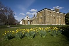 Dulwich Picture Gallery in Spring. Dulwich Picture Gallery, London Museums, Public Art, Art Gallery, England, Tours, Mansions, Architecture, House Styles