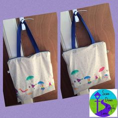 Rainy day extra large wet bag / waterproof tote bag - for cloth nappy / sling storage