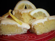 Lark's Country Heart: Lemon Citrus Blondies