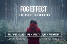 Fog Effect for Photography by feingold on @creativemarket