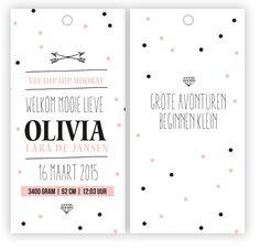 De leukste geboortekaartjes vind je via Babykamerinspiratie.nl