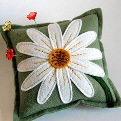 Pincushion by TheBlueDaisy - Wool Felt