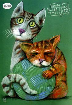 Leszek Zebrowski, Milky River Two Cats,