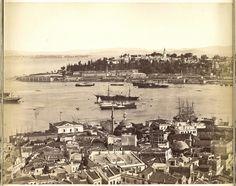 Galata Kulesi'nden Panoramik Görünüm - 4 Guillaume Berggren, 1875