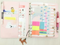 Planner | My Work Planner Set Up Using Cocoa Daisy Day Planner