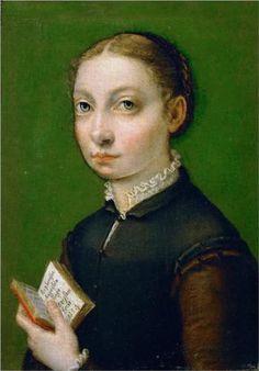 Sofonisba Anguissola: omakuva, 1554