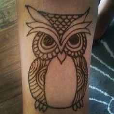 #henna #owl