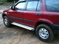 Honda CRV 1st Generation with lift springs and M/T 235/75/15's