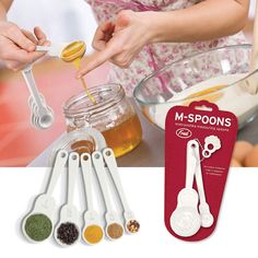 Fred & Friends M-Spoons Measuring Spoons