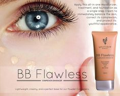 BB Flawless Complexion Enhancer: Lightweight, creamy, and a perfect base for our Powder Concealers. www.youniqueproducts.com/RICHELESCHULTZ
