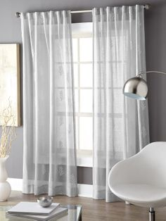 Window drapery - Style At Home