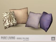 tifaff7's Pure Living Set - Double Pillows