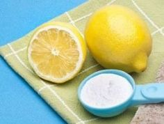 preparacion de limon y bicarbonato para quemar grasa