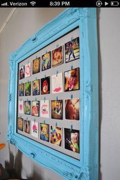 Open-back frame