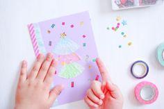 子どもたちと一緒に作ろう!お弁当カップで作るクリスマスカード