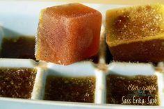 bouillon cubes homedmade Leveskocka házilag, ételízesítéshez és alaplevet  igénylő receptekhez