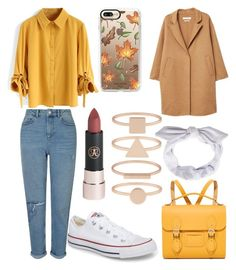 """Untitled #40"" by frid1445 on Polyvore featuring Miss Selfridge, Chicwish, Converse, Casetify, MANGO, The Cambridge Satchel Company and Accessorize"