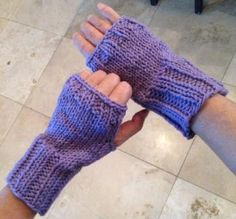 hot purple fingerless glove by itsnotyours on Etsy, $12.00