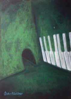Grüner Raum II von Some Born Art auf DaWanda.com