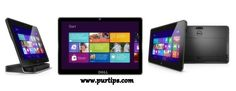 The Dell Latitude 10 Tablet comes with Windows 8 Pro, and lasts up to 20 hours without an external battery dock.    Know more: http://purtips.com/Mobile/Tablet/Dell