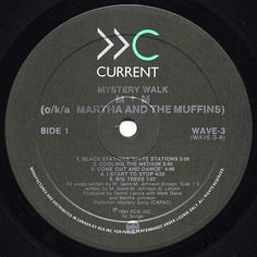 M + M ‎- Mystery Walk CANADA 1984 Lp mint w/LyricsInner Martha and the Muffins