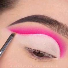 Creative Makeup Looks, Unique Makeup, Colorful Eye Makeup, Stunning Makeup, Cute Makeup, Pretty Makeup, Makeup Eye Looks, Eye Makeup Steps, Eye Makeup Art