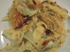 sformato di finocchi e patate