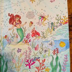 いいね!63件、コメント9件 ― momoさん(@momo20140731)のInstagramアカウント: 「* 連投失礼します♡ 右ページ * * #旅するディズニー塗り絵#大人の塗り絵  #リトルマーメイド #ディズニー #色鉛筆  #パステル #水彩#水彩色鉛筆…」