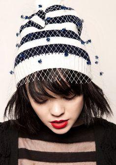 SMURF Hat Hip Hop Style Break ya Mind-HEAD SPIN Beanie Marron Cap