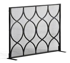 Moroccan Twist Fireplace Single Screen | Pottery Barn
