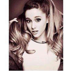 Ariana Grande in Elle Magazine