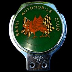 Barry Automobile Club  Any details about this club wanted www.coltautobadgecollection.co.uk
