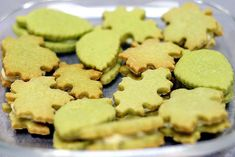 Matcha Shortbreads with White Chocolate Ganache Filling. These are some of my FAVORITE Cookies to make. I usually cut them into rounds. Also, In case anyone was wondering Smitten Kitchen is my FAV source for cookies.