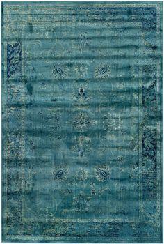 Safavieh - Safavieh Vintage VTG117-2220 Turquoise - Multi Area Rug #101021