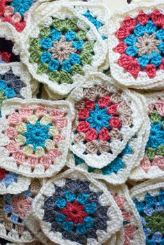 Granny Square Blanket - Alyssa B. Young - In the Wabe