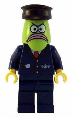 Bus Driver - LEGO Spongebob Squarepants Figure by LEGO. $16.15