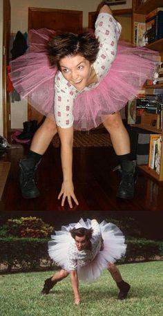best costume EVER!!Woman Ace Ventura