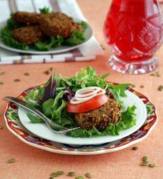 Healthy Gluten Free Recipes for Dinner: Tex-Mex Black Bean Burgers