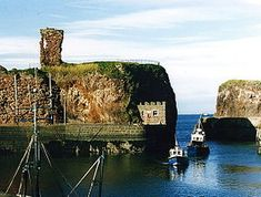 Dunbar Castle is the remnants of one of the most mighty fortresses in Scotland, situated over the harbour of the town of Dunbar, in East Lothian.