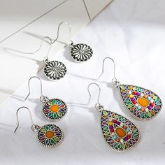 Nice Korea Bamboo Wooden Straw Weave Rattan Knit Vine Geometric Hollow Out Water Drop Long Earrings For Women Beach Jewelry Refreshing And Beneficial To The Eyes Drop Earrings