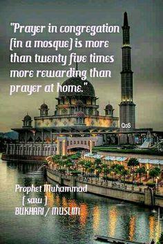 Hadith (saying) of Prophet Muhammad (saw) Bukhari / Muslim