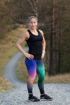 NORTHERN LIGHT TIGHTS | UNO SPORTSWEAR Shapes And Curves, Workout Leggings, Northern Lights, Sportswear, Tights, Sporty, Color, Inspiration, Beautiful