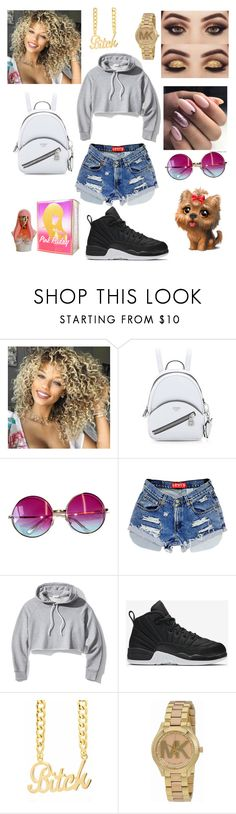 """""""Glow"""" by itsshavell ❤ liked on Polyvore featuring Janis, Frame, NIKE, Michael Kors and Nicki Minaj"""