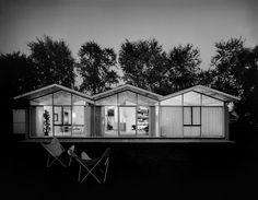 Kessler House, mid century Michigan