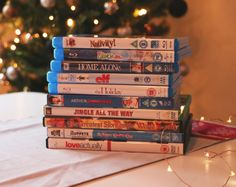 Christmas films  Others:  - A Charlie Brown Christmas (1965) - It's a Wonderful Life (1946) - Nightmare Before Christmas (1993) - Miracle on 34th Street (1947) - Gremlins (1984) - Polar Express (2004)